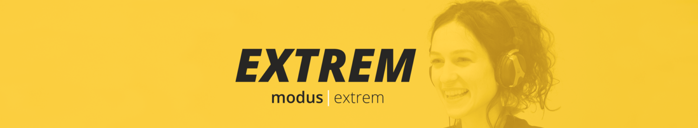 modus extrem Banner